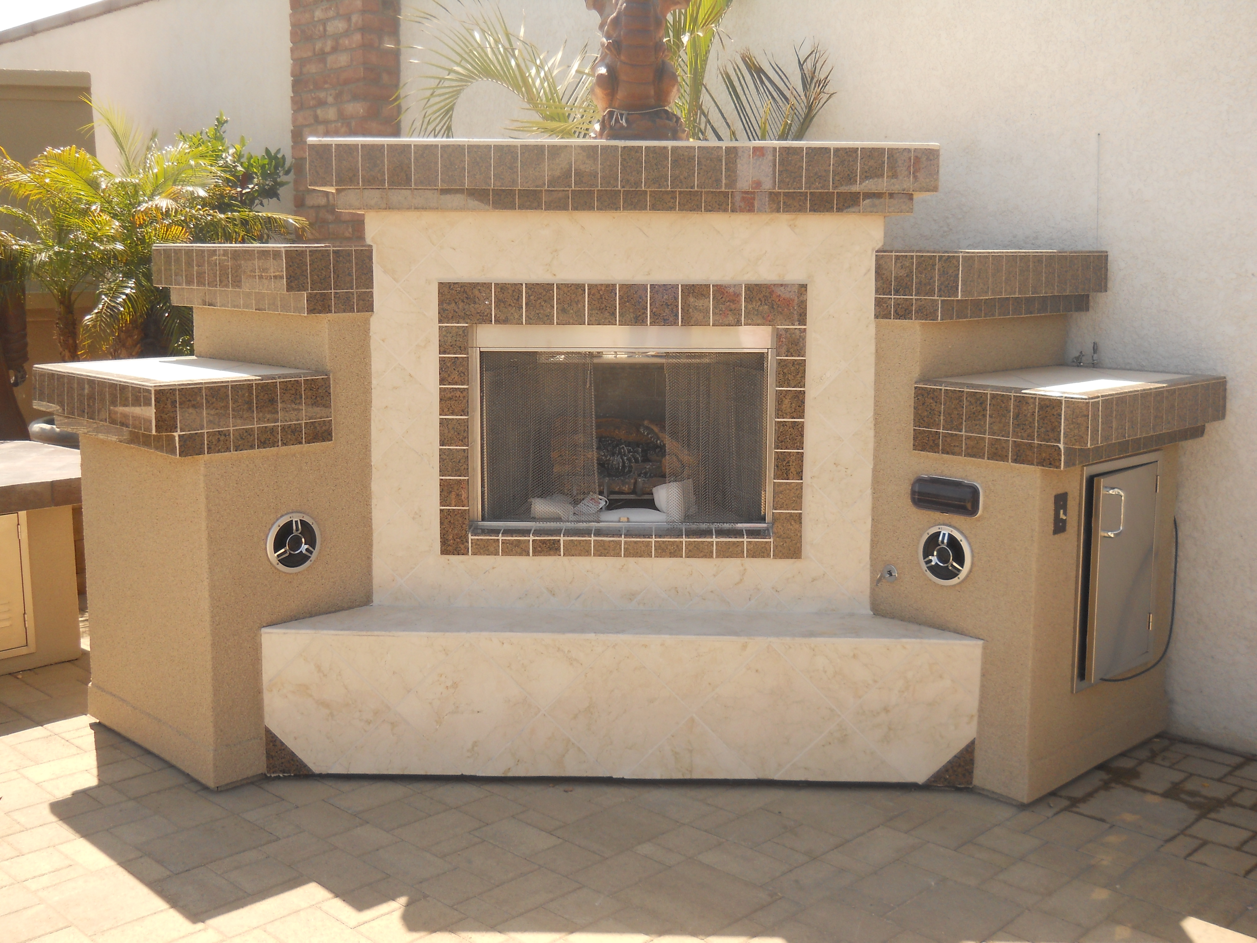Fire Place by Extreme Backyard Designs