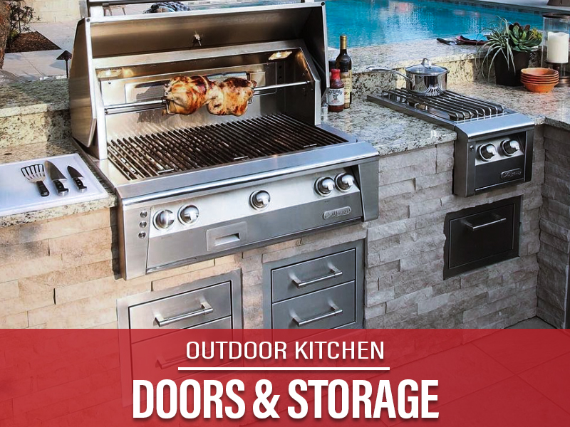OUtdoor Kitchen Storage orange county