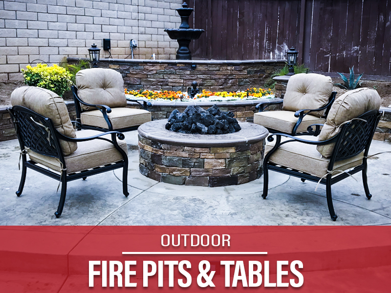 Outdoor Fire Pits and Tables Riverside
