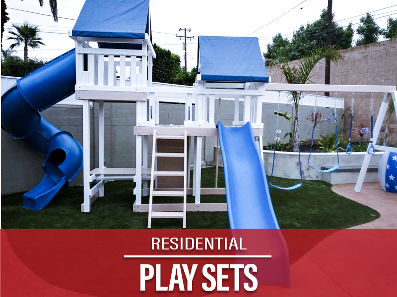 Residential Play Sets Orange County